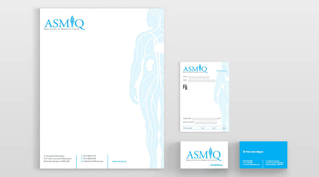 ASMIQ Stationery & Prescription Pads