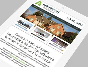 Anderson Construction & Contracting Rebrand