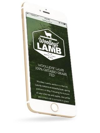 Woolleys' Lamb Responsive Website