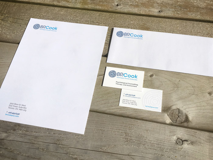 BR Cook Stationery