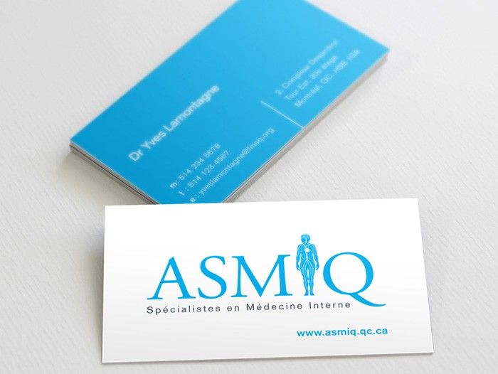 ASMIQ Business Card Design