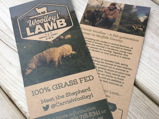 Woolleys' Lamb 100% Grass Fed