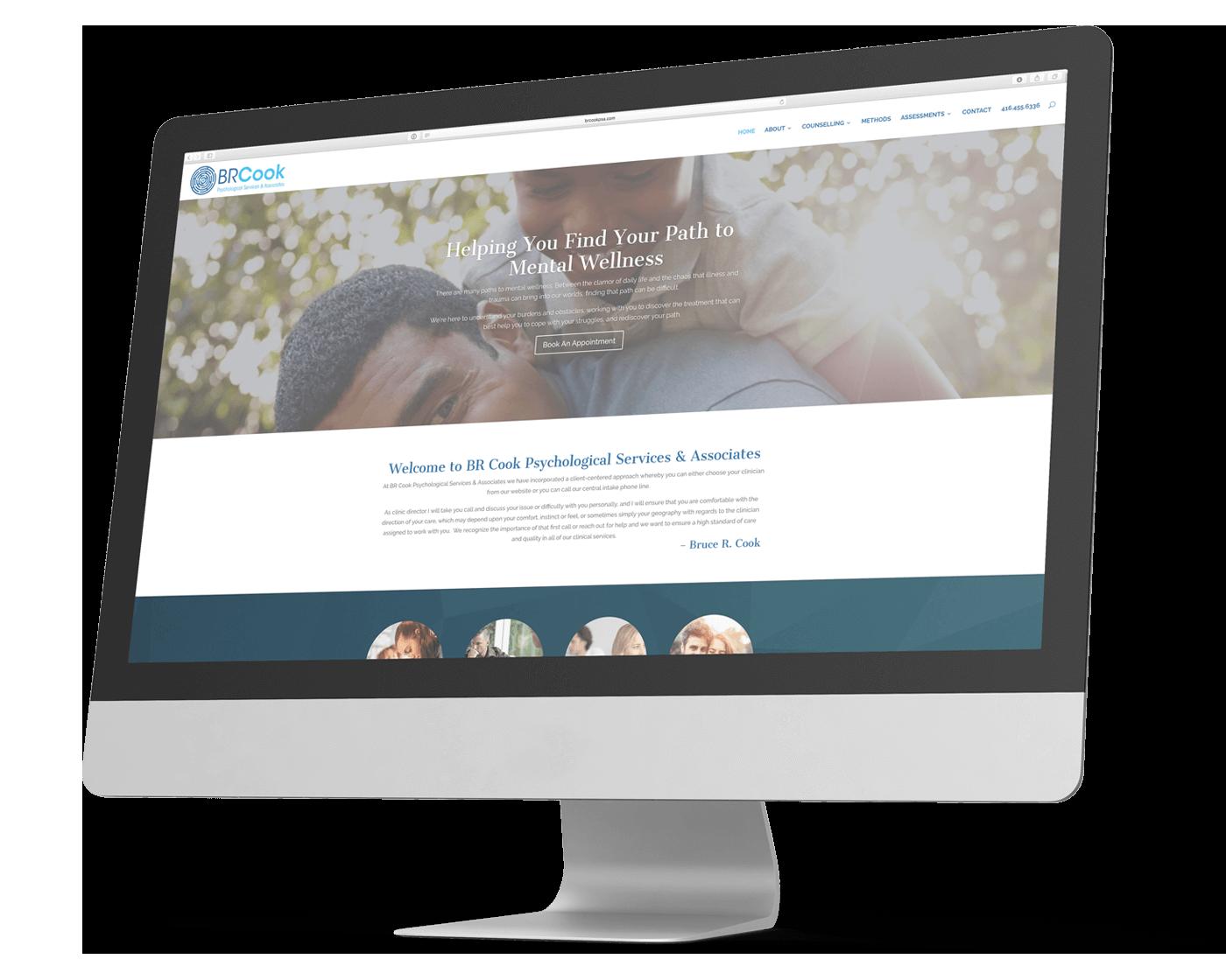 BR Cook PSA Responsive Website Design